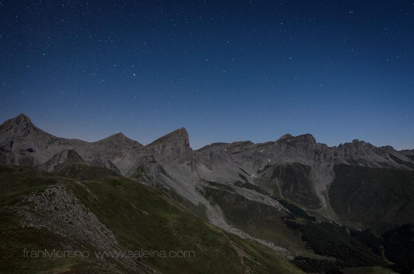 Desde la cresta del Acherito, picos Sobarcal y Petrechema