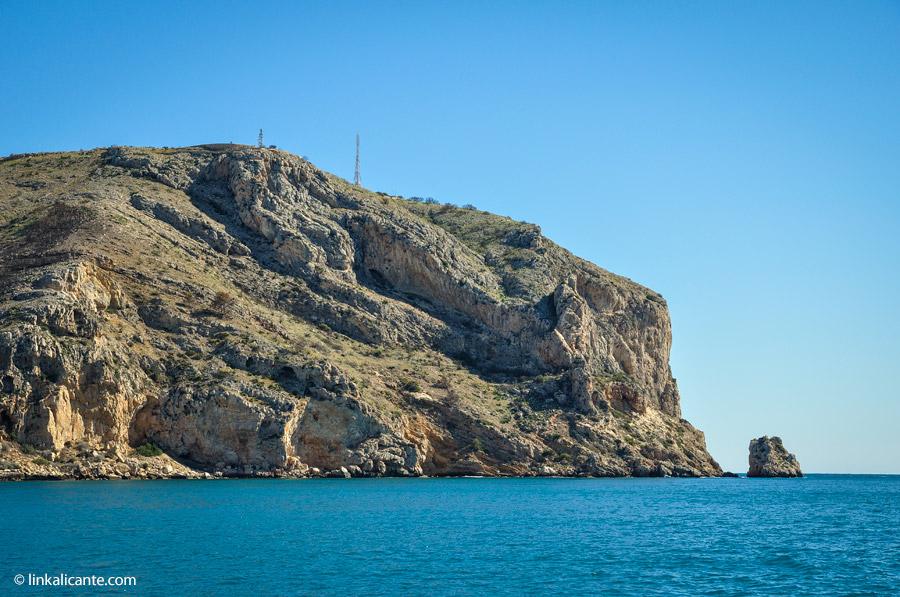 Cabo de San Antonio desde el mar