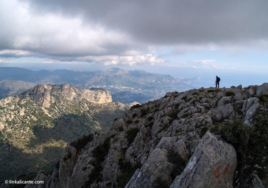 Ponoig desde la cumbre del Puig Campana