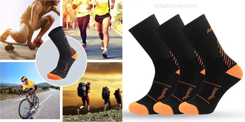 calcetines deportivos hombre