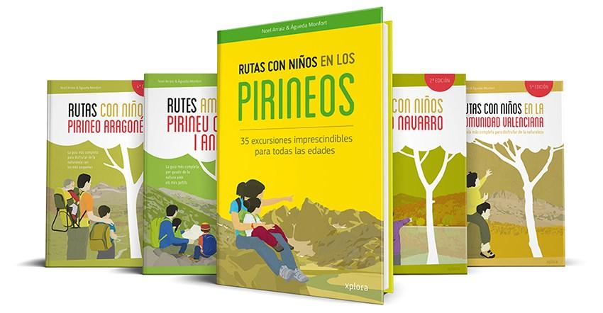 libro rutas montaña pirineos con niños