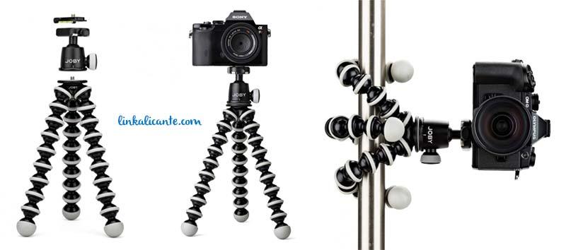 tripode foto gorillapod mirrorless