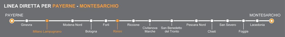 Bus Metaponto-Rimini, pullman per la Riviera Romagnola