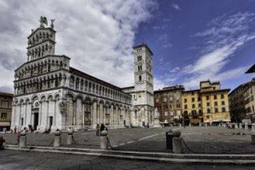 Lucca, Italia. Cattedrale di San Michele