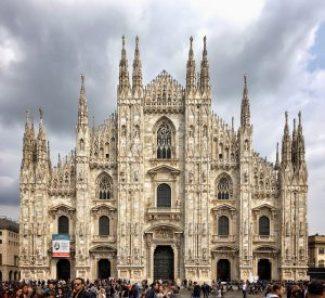 Duomo di Milano, foto della facciata