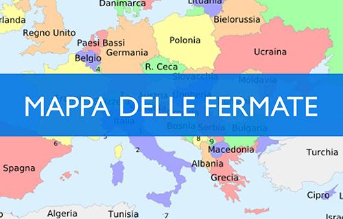 MAPPA DELLE FERMATE