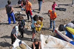 I volontari della Gaiola