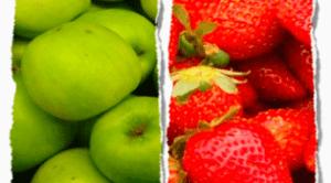 foto articolo rischio mele e fragole