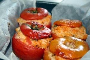 foto ricetta pomodori ripieni gratinati