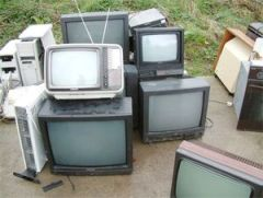 smaltimento rifiuti tv