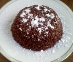 Budino di riso cioccolato e nocciole. Foto: web