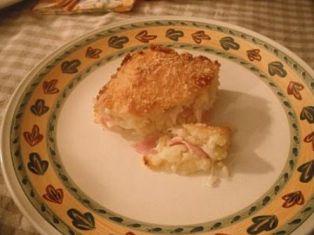 foto ricetta soffiato pane e mozzarella