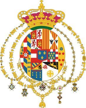 Lo stemma dei Borboni