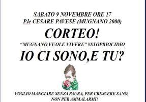 Il Comitato cambiamo Mugnano in piazza il 9 novembre #stopbiocidio