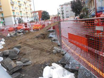 Piazza Leonardo - cantieri aperti