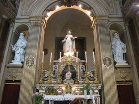 foto s. teresa altare maggiore ( chiesa di s. teresa a chiaia)