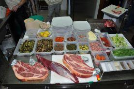 La carne selezionata dagli chef