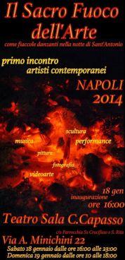 Il sacro fuoco dell'arte I IAC a Napoli 2014