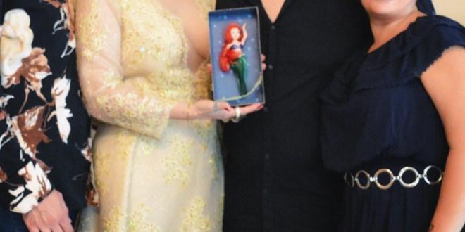 """La """"Sirenetta"""" si sposa: indosserà un abito creato dallo stilista napoletano Gianni Cirillo"""