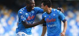 Il Napoli cala il poker contro l'Atalanta