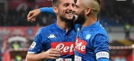 Napoli-Empoli 5-1: tripletta di Mertens