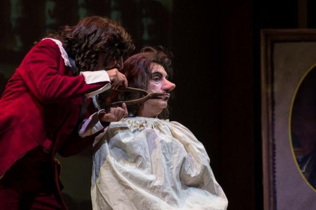 ( Gennaro Cannavacciuolo, protagonista del Cyrano) Photo Credits: Grazia Guarino