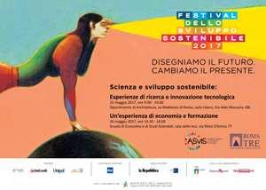 """A Napoli il Festival dello Sviluppo Sostenibile """"Che nessuno resti indietro"""""""