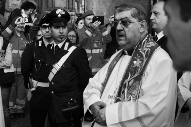 Crescenzio Sepe, Cardinale di Napol. © Claudio Menna, Napoli 2015.
