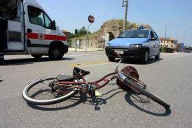 ciclista investito milano