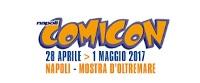 Napoli Comicon 2017: attesi ospiti italiani ed internazionali
