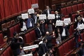 protesta parlamento