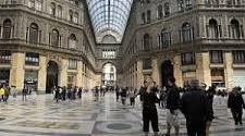 Galleria Umberto  I restaurata