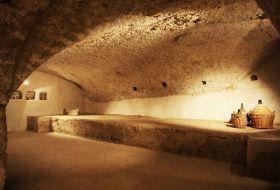i sotterrani nel monastero
