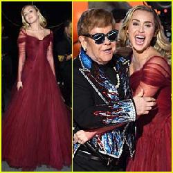 Elton John & Miley Cyrus Grammy 2018