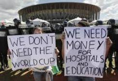 proteste brasile