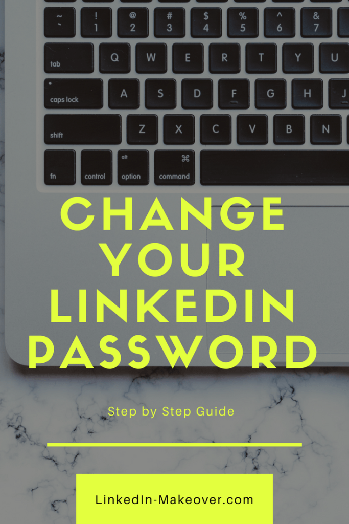 Update or Change Your LinkedIn Password