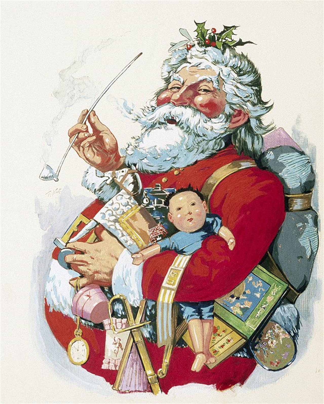 Babbo Natale Quando E Nato.Ecco Il Genio Che Ha Inventato Babbo Natale No Non E Stata La Coca Cola Linkiesta It