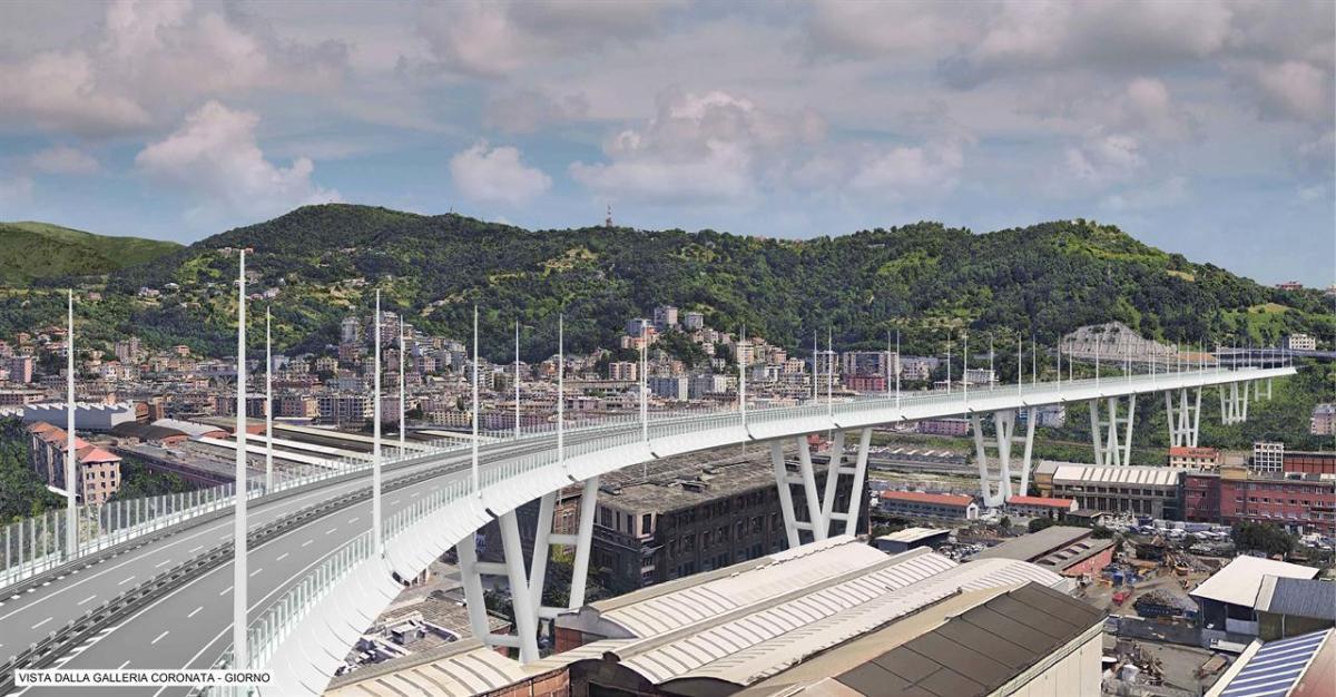 Autostrade per l'Italia: nuovo ponte Morandi pronto in nove mesi ...