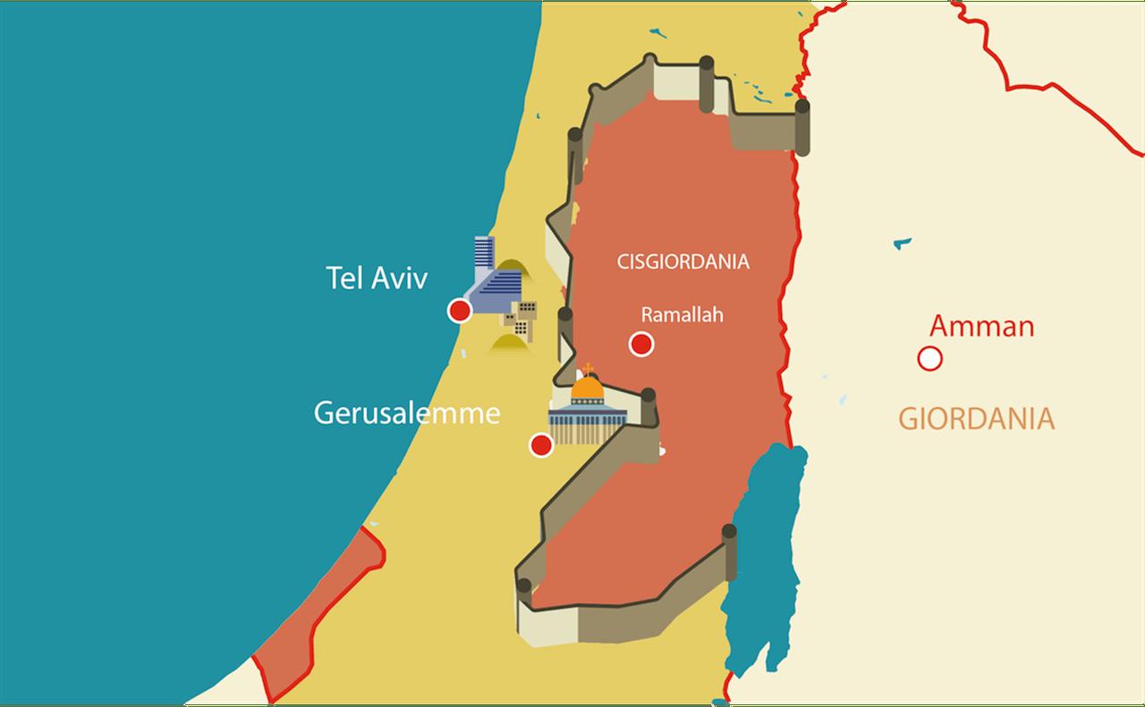 Israele Palestina Cartina.Quello Che C E Da Sapere Sulla Striscia Di Gaza Linkiesta It