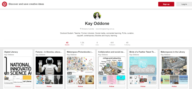 Join me on Pinterest!