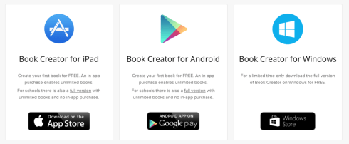 book creator apps