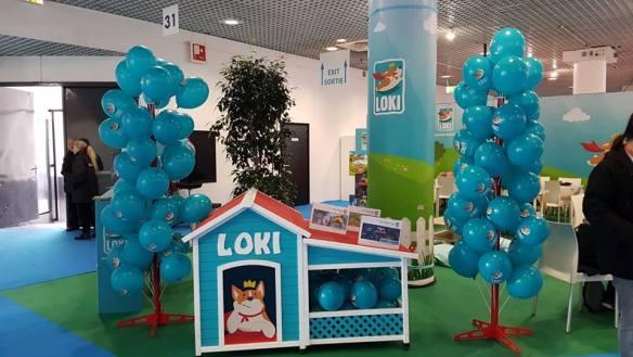 Stand Loki au F.I.J. de Cannes