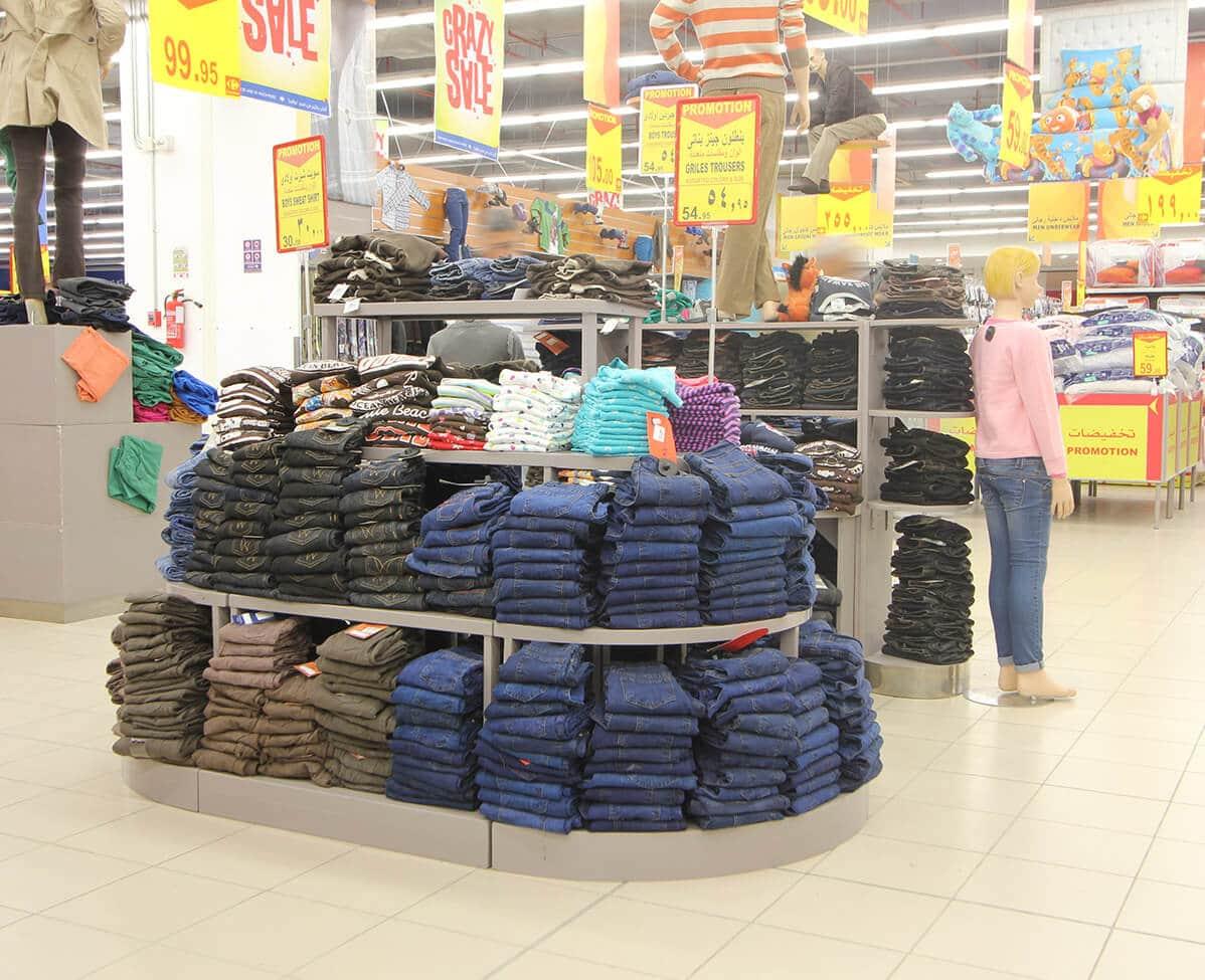 Textile Linkmisr Storage Racking Shelving Solutions