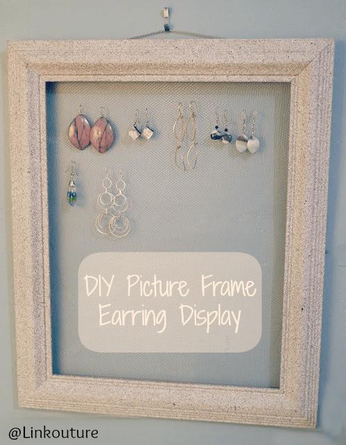 earring holder picture frame