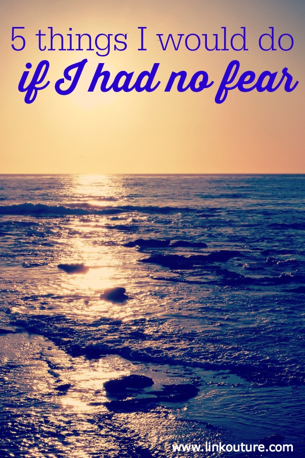 What would you do if you had no fear?