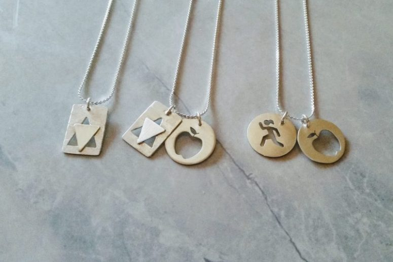Custom handmade charm necklaces