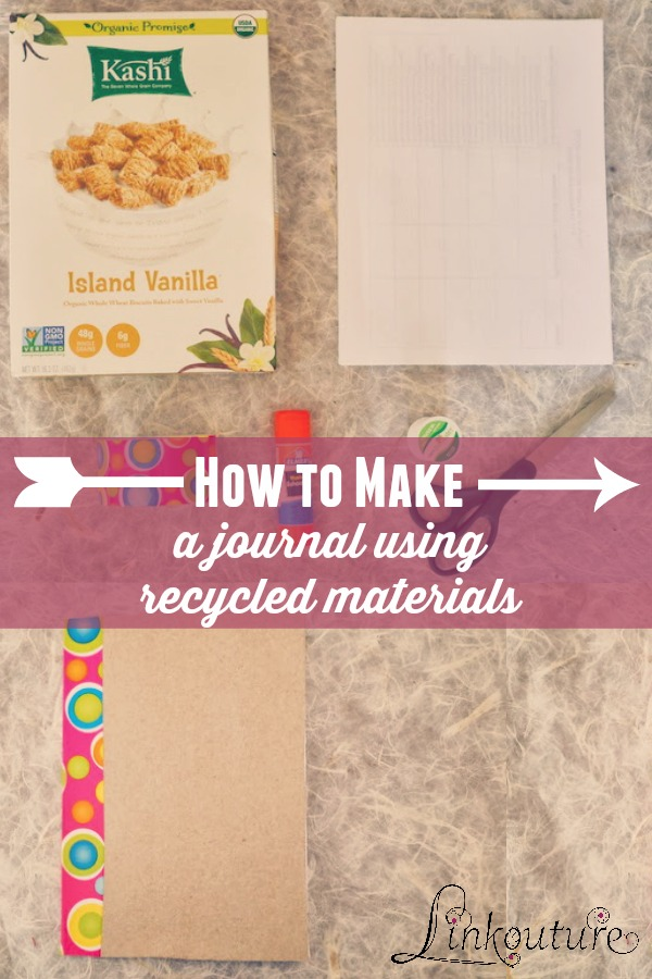 Is your child a budding Picasso or or the next Hemmingway? This fun diy kids craft using a cereal box makes the perfect journal for your child for writing or art.