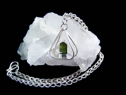 """Mountain Treasure"" necklace"