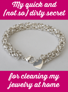 Linkouture shares a cheap, easy and eco-friendly way to clean your silver jewelry at home