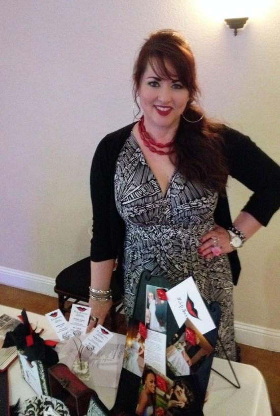 Makeup artist and beauty expert Jennifer Trotter of Lip Service Makeup